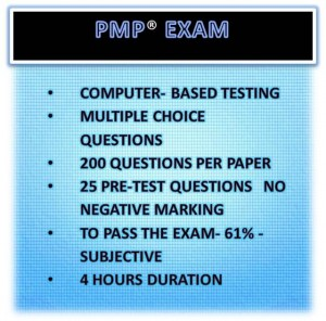 pmp exam button
