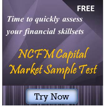 NCFM capital market sample