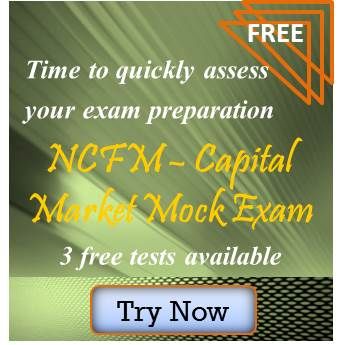 Ncfm mock - capital market